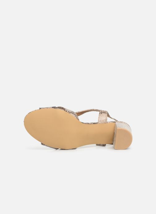 Sandals I Love Shoes THAIALA Beige view from above