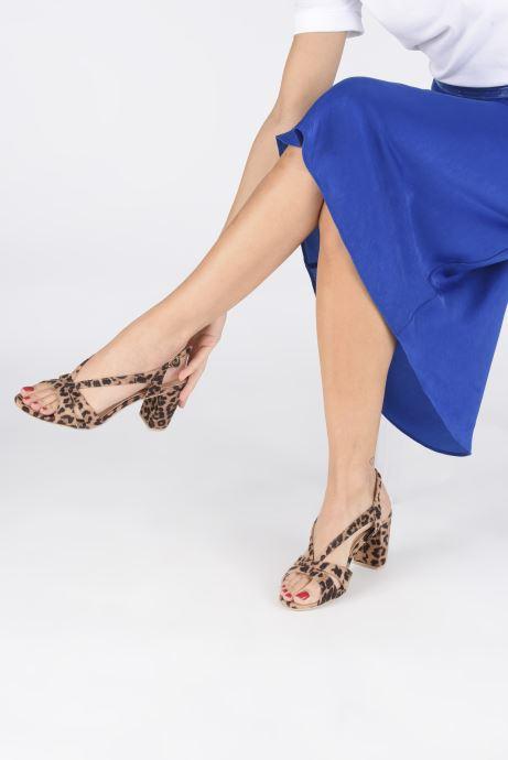 Sandales et nu-pieds I Love Shoes THAIALA Beige vue bas / vue portée sac