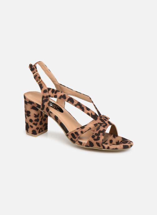 Sandales et nu-pieds I Love Shoes THAIALA Beige vue détail/paire
