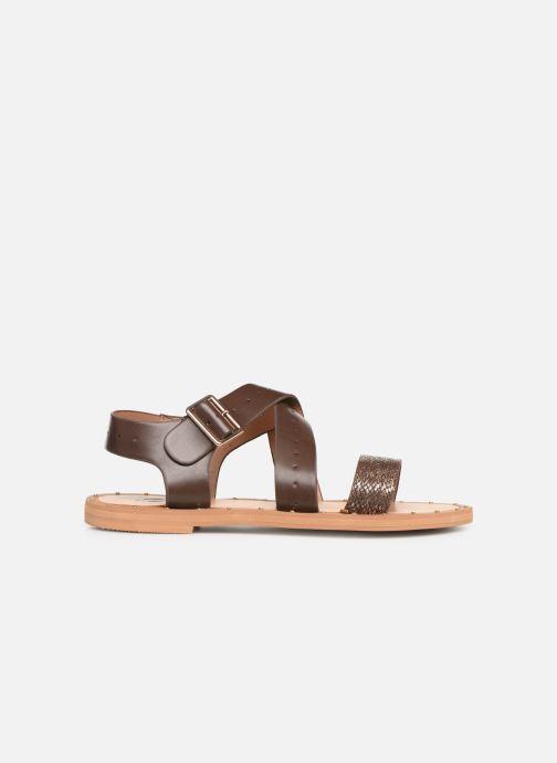 Sandales et nu-pieds Vanessa Wu SD1281 Marron vue derrière