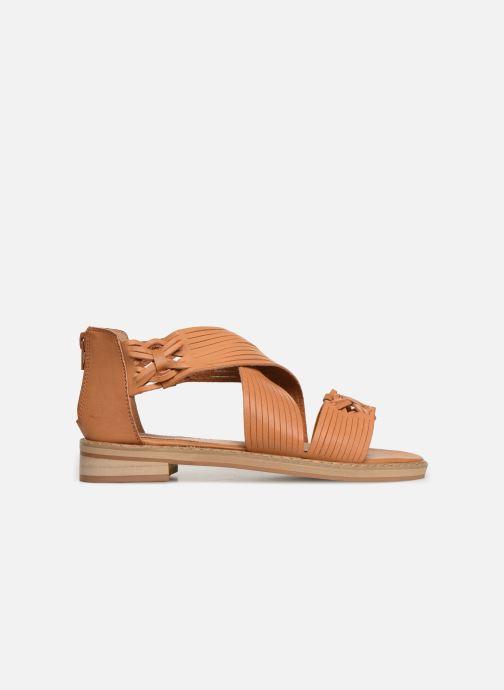 Sandales et nu-pieds Vanessa Wu SD1244 Marron vue derrière