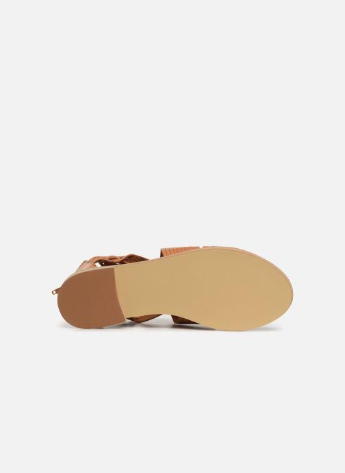 Sandales et nu-pieds Vanessa Wu SD1244 Marron vue haut