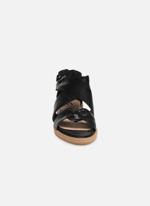 Sandales et nu-pieds Vanessa Wu SD1244 Noir vue portées chaussures