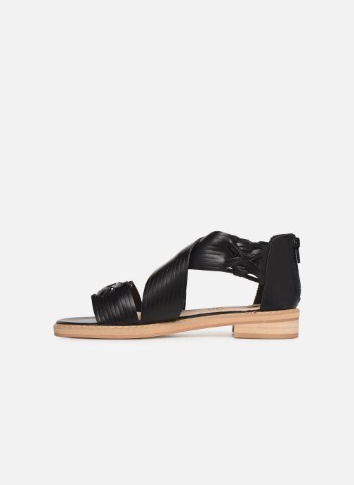 Sandales et nu-pieds Vanessa Wu SD1244 Noir vue face