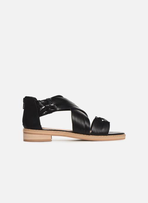 Sandales et nu-pieds Vanessa Wu SD1244 Noir vue derrière