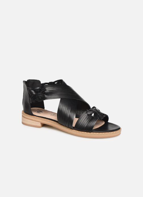 Sandales et nu-pieds Vanessa Wu SD1244 Noir vue détail/paire