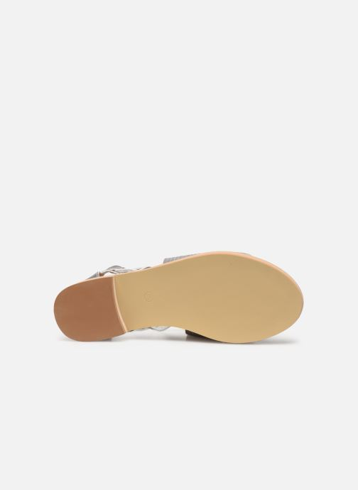 Sandali e scarpe aperte Vanessa Wu SD1244 Argento immagine dall'alto
