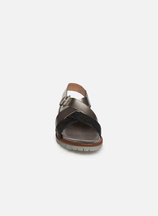 Sandales et nu-pieds Vanessa Wu SD1254 Gris vue portées chaussures