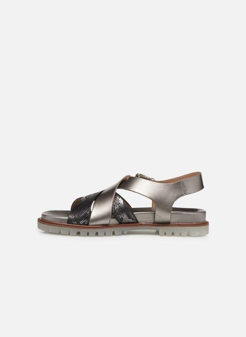 Sandales et nu-pieds Vanessa Wu SD1254 Gris vue face