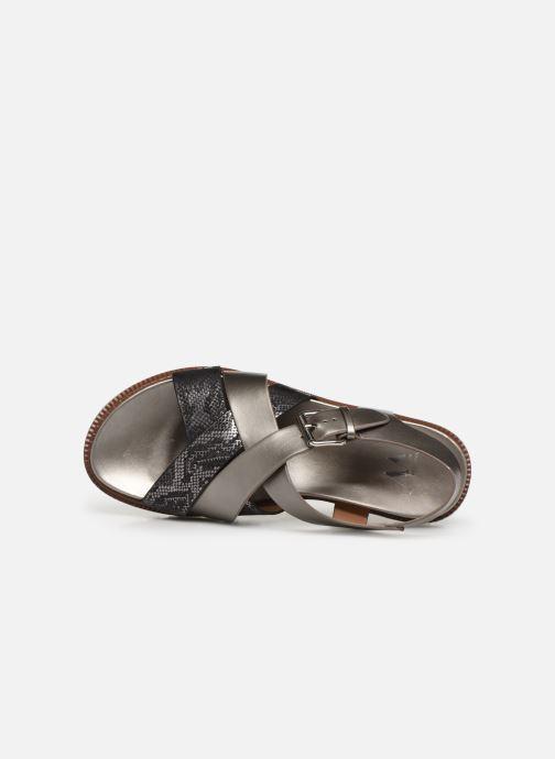 Sandales et nu-pieds Vanessa Wu SD1254 Gris vue gauche