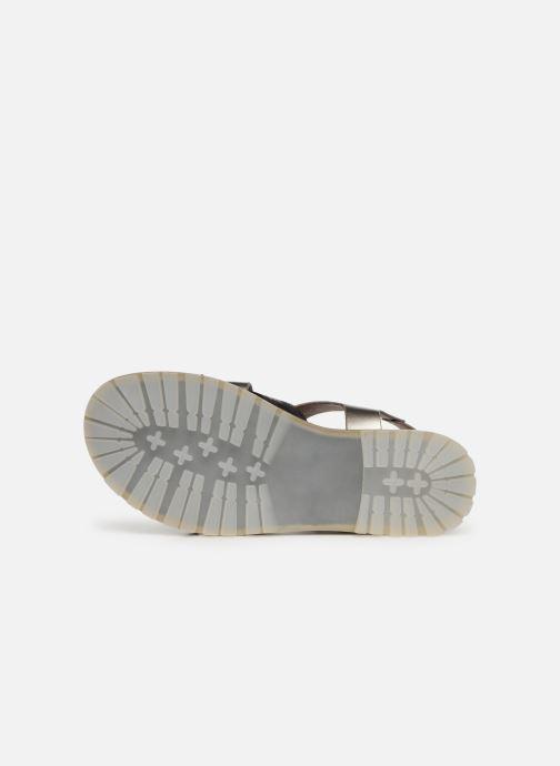 Sandales et nu-pieds Vanessa Wu SD1254 Gris vue haut