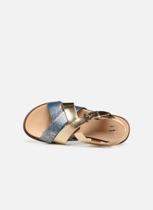 Sandales et nu-pieds Vanessa Wu SD1254 Or et bronze vue gauche