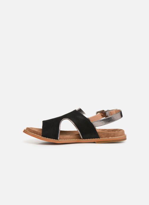 Sandales et nu-pieds Vanessa Wu SD1572 Noir vue face