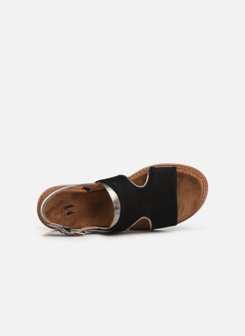 Sandales et nu-pieds Vanessa Wu SD1572 Noir vue gauche