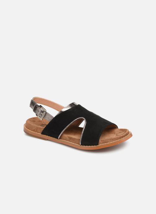 Sandales et nu-pieds Vanessa Wu SD1572 Noir vue détail/paire