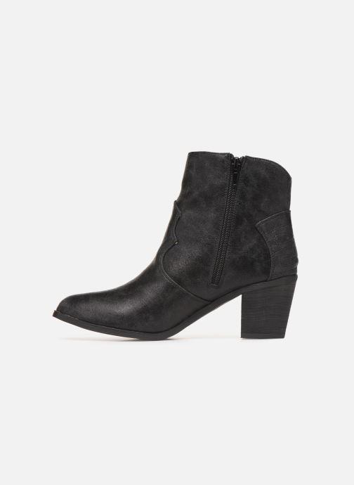 Bottines et boots Vanessa Wu BT1607 Noir vue face