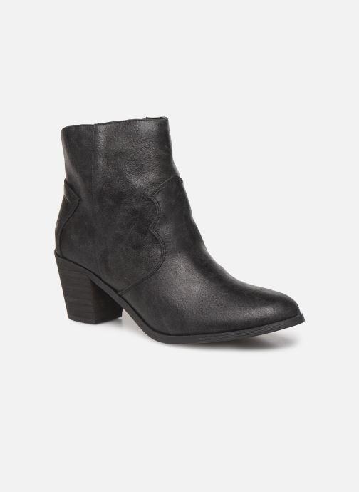 Bottines et boots Vanessa Wu BT1607 Noir vue détail/paire