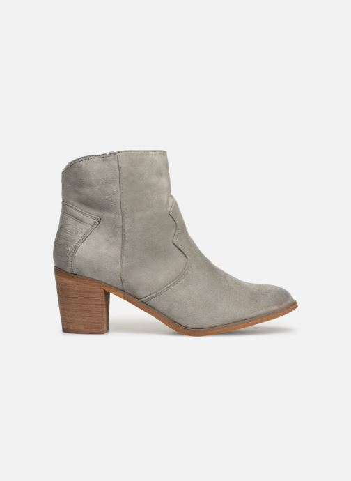 Ankle boots Vanessa Wu BT1607 Grey back view
