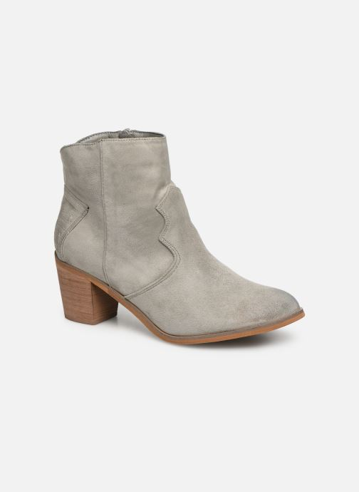 Ankle boots Vanessa Wu BT1607 Grey detailed view/ Pair view