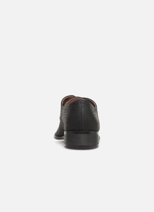 Chaussures à lacets Vanessa Wu RL1753 Noir vue droite