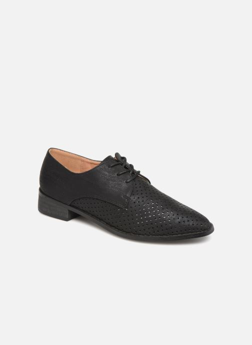 Chaussures à lacets Vanessa Wu RL1753 Noir vue détail/paire