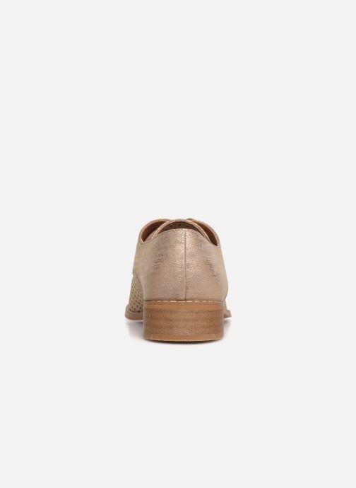 Chaussures à lacets Vanessa Wu RL1753 Rose vue droite