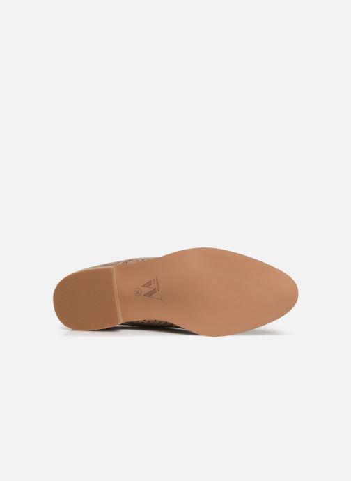 Chaussures à lacets Vanessa Wu RL1753 Rose vue haut