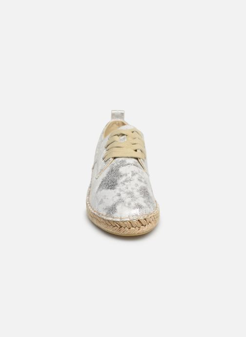 Espadrilles Vanessa Wu BK1533 Argent vue portées chaussures