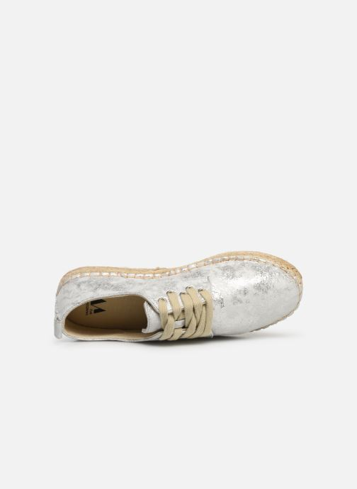 Espadrilles Vanessa Wu BK1533 Silver view from the left