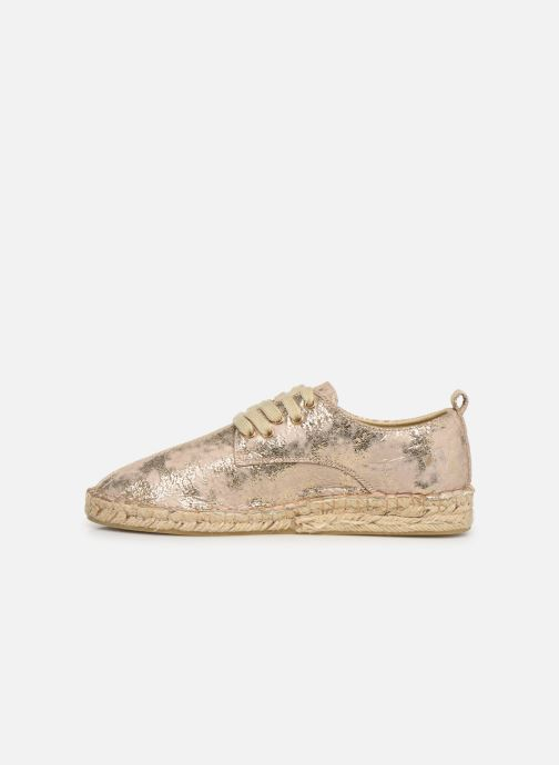 Espadrilles Vanessa Wu BK1533 Bronze and Gold front view