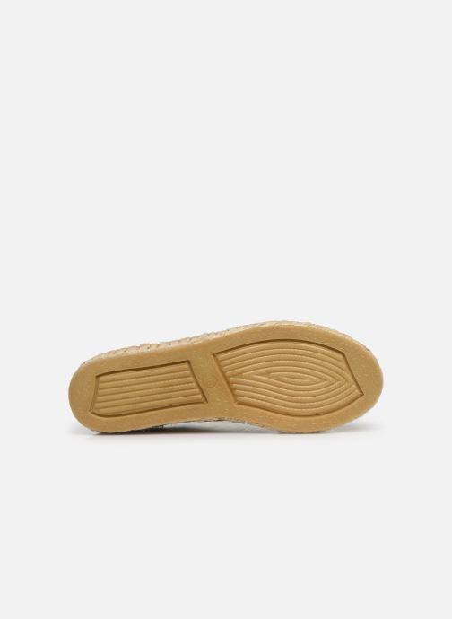 Espadrilles Vanessa Wu BK1533 Bronze and Gold view from above