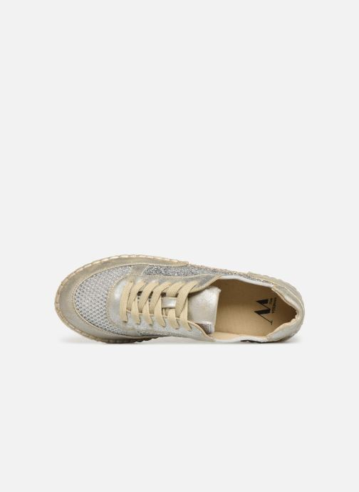 Espadrilles Vanessa Wu BK1569 Silver view from the left
