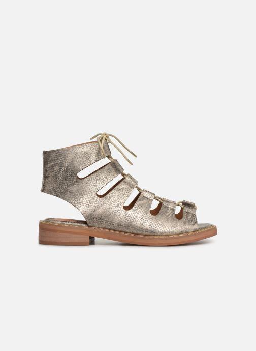 Sandales et nu-pieds Vanessa Wu SD1536 Or et bronze vue derrière
