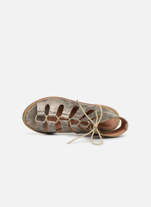 Sandales et nu-pieds Vanessa Wu SD1536 Or et bronze vue gauche