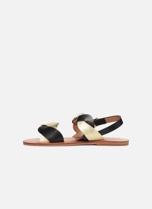 Sandales et nu-pieds Vanessa Wu SD1721 Noir vue face
