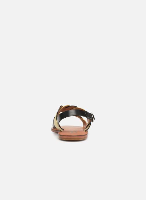 Sandales et nu-pieds Vanessa Wu SD1721 Noir vue droite