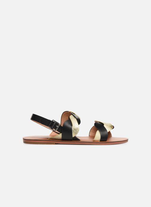 Sandales et nu-pieds Vanessa Wu SD1721 Noir vue derrière