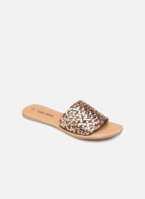 Mules et sabots I Love Shoes KITRESSE LEATHER Or et bronze vue détail/paire