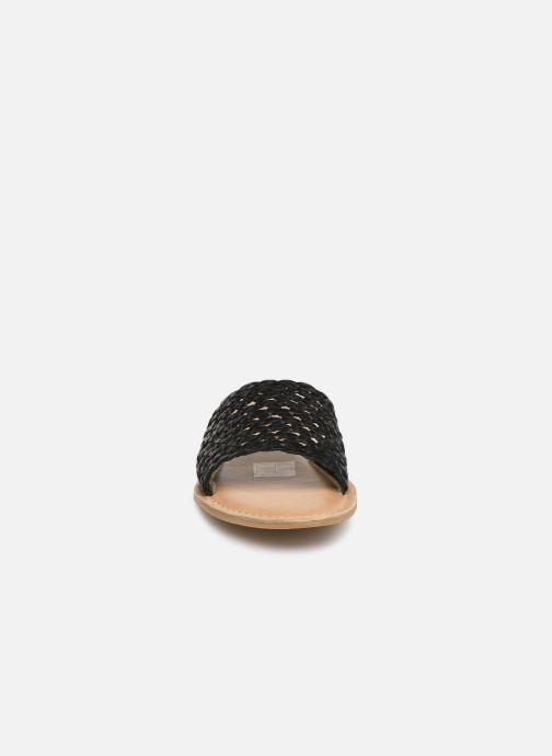 Mules et sabots I Love Shoes KITRESSE LEATHER Noir vue portées chaussures