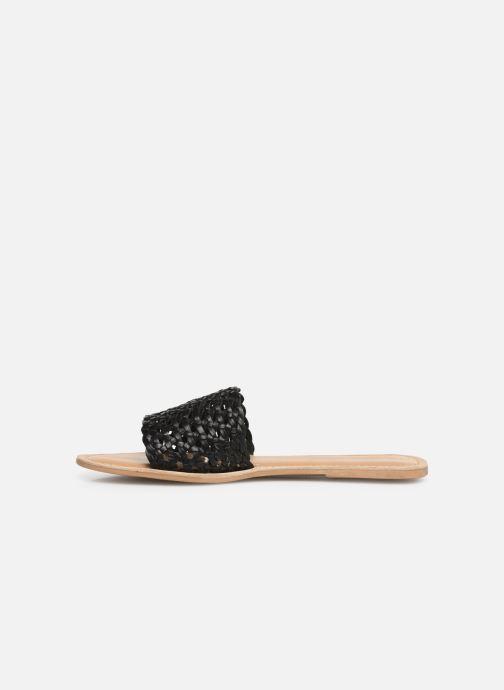 Clogs og træsko I Love Shoes KITRESSE LEATHER Sort se forfra