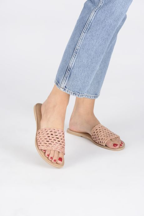 Zoccoli I Love Shoes KITRESSE LEATHER Marrone immagine dal basso