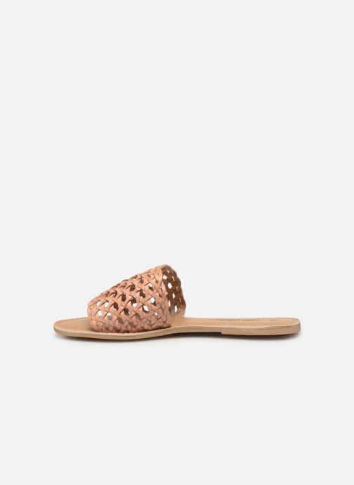 Mules et sabots I Love Shoes KITRESSE LEATHER Marron vue face