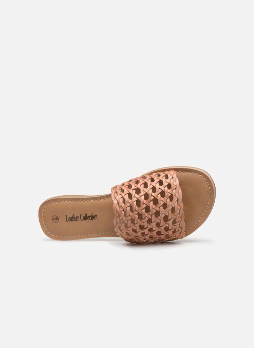 marron Et Love I Leather Sabots Shoes Mules Chez Kitresse aIqHUxq