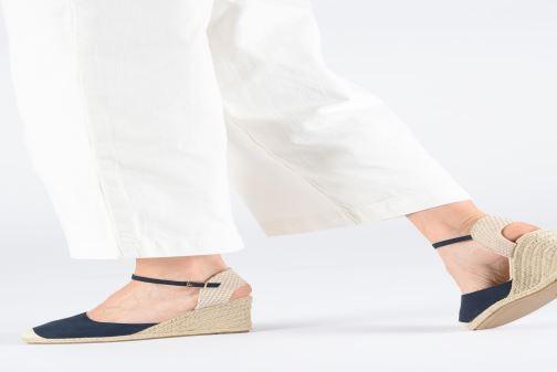 Alpargatas I Love Shoes KIDESPA Marrón vista de abajo