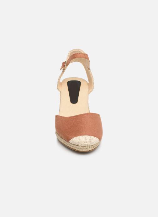 Espadrilles I Love Shoes KIDESPA Marron vue portées chaussures