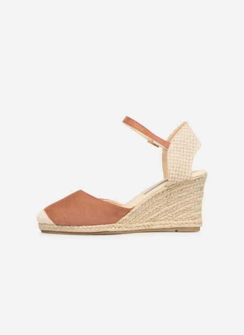 Alpargatas I Love Shoes KIDESPA Marrón vista de frente