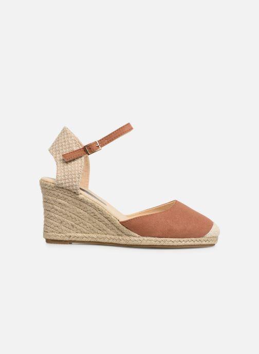 Alpargatas I Love Shoes KIDESPA Marrón vistra trasera