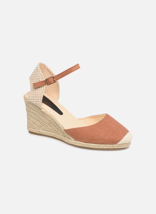 Espadrilles I Love Shoes KIDESPA Marron vue détail/paire