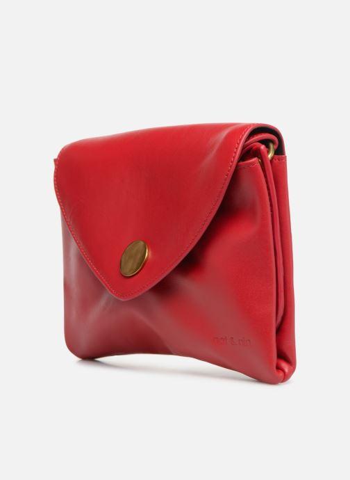 Handtaschen Nat & Nin Sally rot schuhe getragen