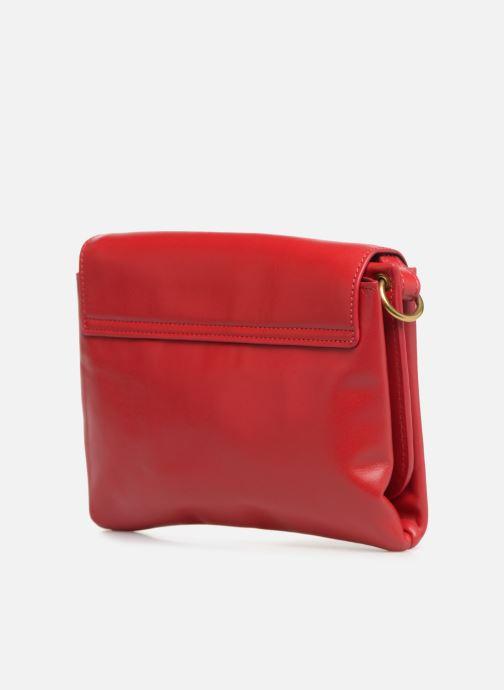 Handtaschen Nat & Nin Sally rot ansicht von rechts